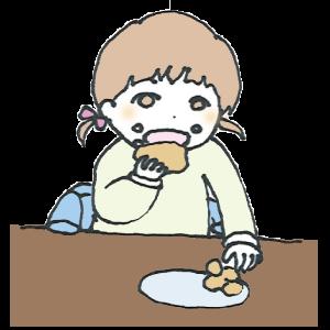 食べるという機能の発達のためには大切なことなので、手づかみ食べもしっかりと経験させてあげましょう