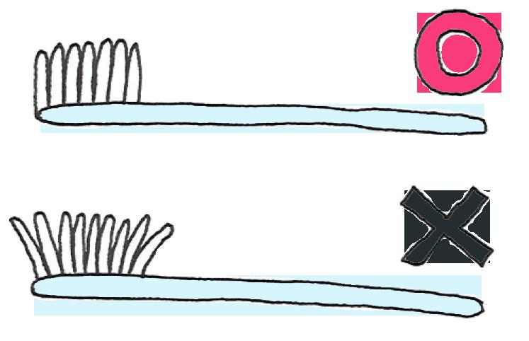 歯ブラシの取り換え時期